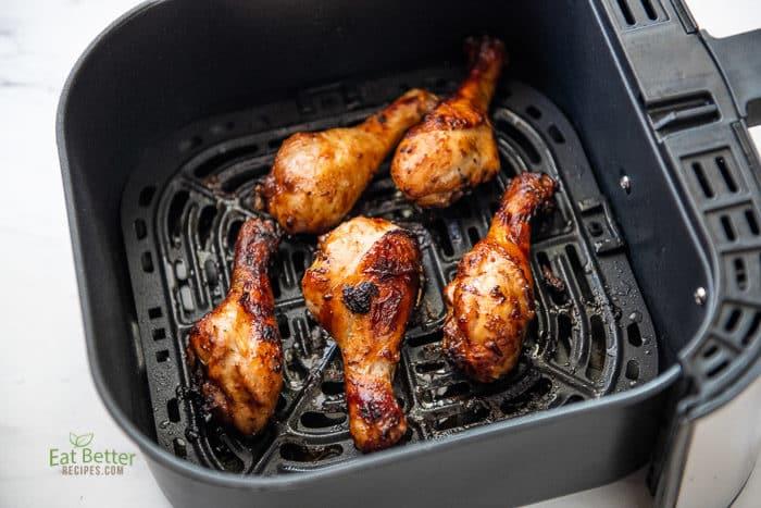 air fryer chicken legs bbq
