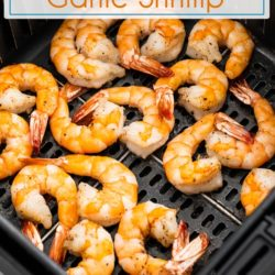 Best recipe for air fried shrimp in air fryer | EatBetterRecipes.com