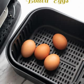 Air Fryer Boiled Eggs and How to Cook Eggs in Air Fryer @EatBetterRecipes