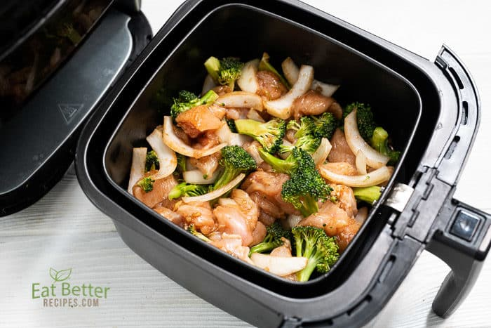 Healthy Air Fryer Chicken And Broccoli that's Air Fried Crispy | @bestrecipebox