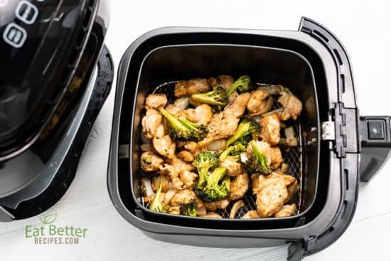 Healthy Air Fryer Chicken And Broccoli that's Air Fried Crispy | @bestrecipebox
