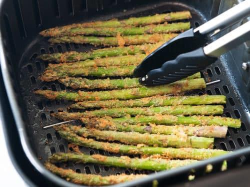 Turning asparagus