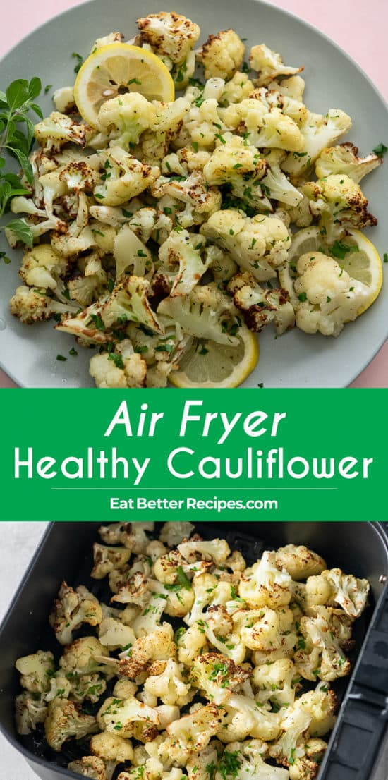 How to cook air fried cauliflower Recipe with Garlic step by step photos