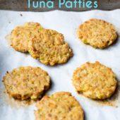 Healthy Baked Tuna Patties Recipe that's Easy Paleo Tuna Patties Recipe @eatbetterrecipes #keto #ketorecipes #tuna #seafood #paleo