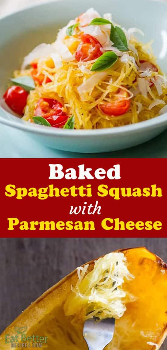 How to Bake Spaghetti Squash | @EatBetterRecipes