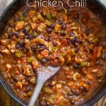 Healthy Chicken Chili Recipe | @EatBetterRecipes