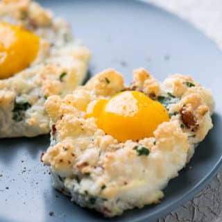 Cloud Eggs Recipe for Eggs in A Cloud @EatBetterRecipes