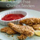 Gluten Free Chicken Tenders | @EatBetterRecipes