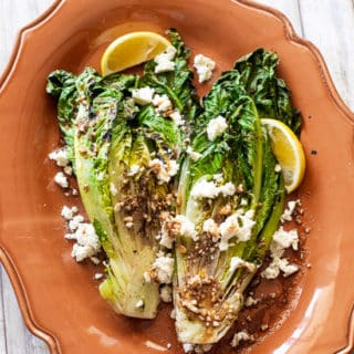 Grilled Romaine Salad Recipe for Summer Grilling! @EatBetterRecipes