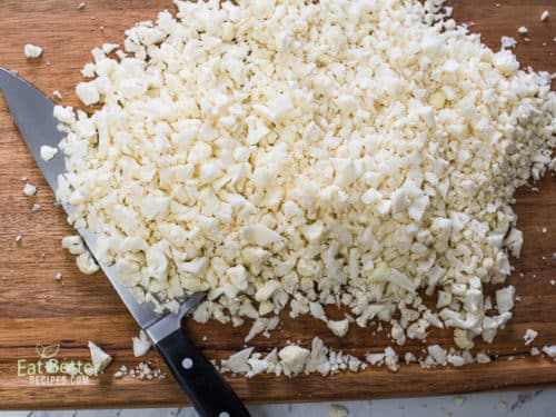 How to Make Cauliflower Fried Rice Recipe | @EatBetterRecipes