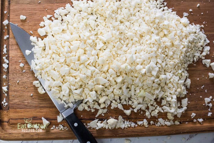 How to Make Cauliflower Fried Rice Recipe | @EatBetterRecipes