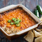 Baked Jalapeño Popper Dip Recipe and Best Cheese Dip Recipe | @eatbetterrecipes
