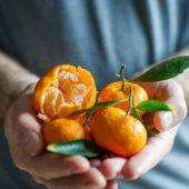 Kishu Mandarins - @EatBetterRecipes