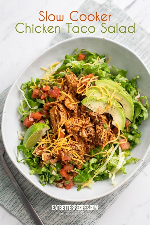 Slow Cooker Mexican Chicken Recipe | EatBetterRecipes.com