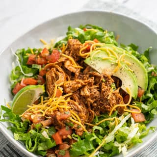 Slow Cooker Mexican Chicken Recipe | EatBetterRecipes.com