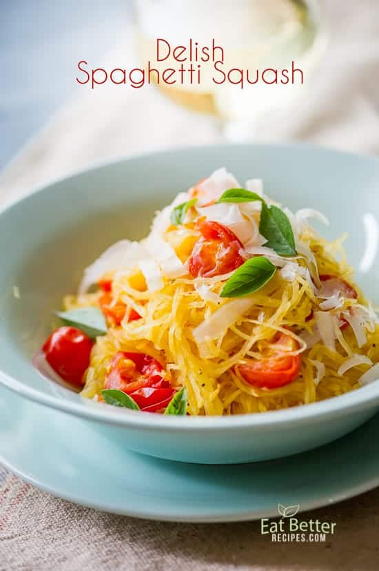 Easy Spaghetti Squash Recipe | @EatBetterRecipes