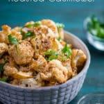 Sriracha Roasted Cauliflower Recipe Healthy Cauliflower Recipe | @eatbetterrecipes