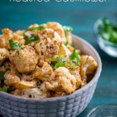 Sriracha Roasted Cauliflower Recipe Healthy Cauliflower Recipe | @eatbetterrecipes