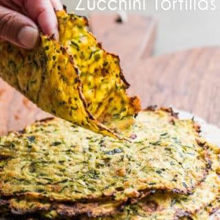 Healthy Zucchini Tortillas Recipe Low Carb and Delicious | @eatbetterrecipes