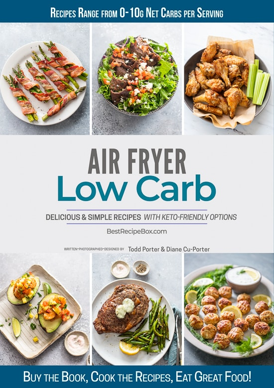 air fryer Low Carb ecookbook @EatBetterRecipes
