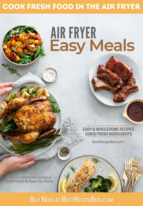 air fryer Easy Meals ecookbooks @EatBetterRecipes