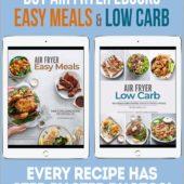 air fryer ecookbooks bundle @EatBetterRecipes